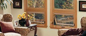 awning windows in living room