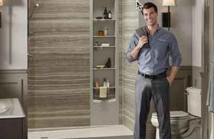 man who just installed a home improvement product